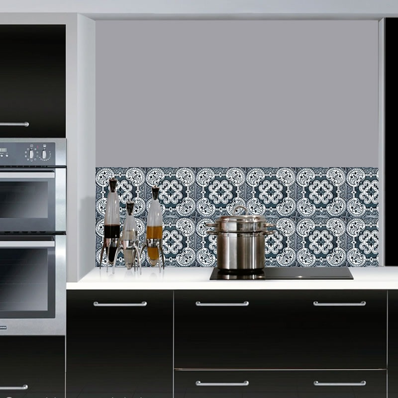 Armario Sala ~ Adesivo Azulejo Decorativo Cozinha Banheiro Cód 015 R$ 19,98 em Mercado Livre