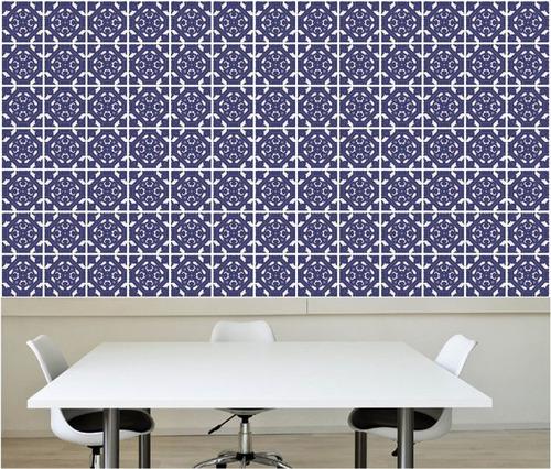 Adesivo azulejo papel de parede decorativo cozinha m20 r 119 00 em mercado livre - Papel para paredes decorativo ...