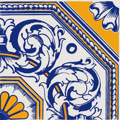 adesivo azulejo português ladrilho hidraulico brinde gratis