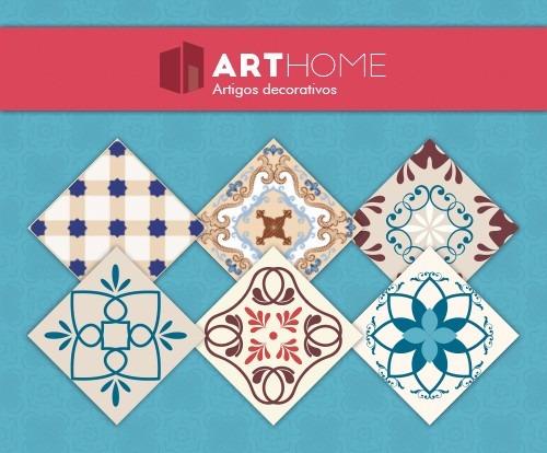 adesivo azulejo português ladrilho hidráulico-promoção!15x15