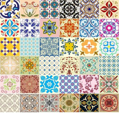 Adesivo azulejos decorativos 36 unidades de 15cm r 49 for Azulejos decorativos