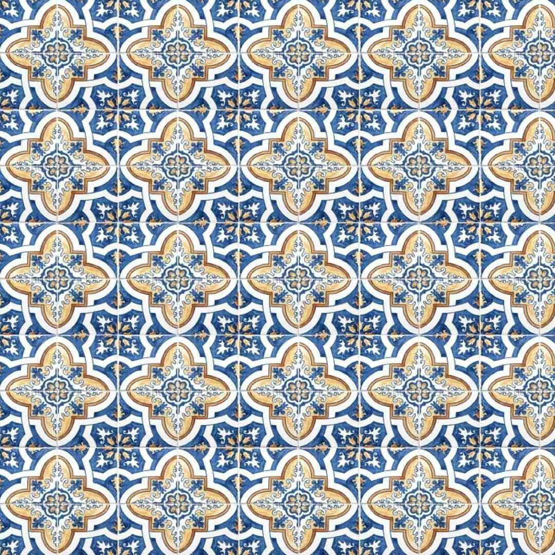 Adesivo azulejos decorativos portugu s kit 36 unidades r for Azulejos decorativos