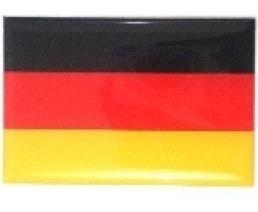 adesivo bandeira alemanha resinado universal