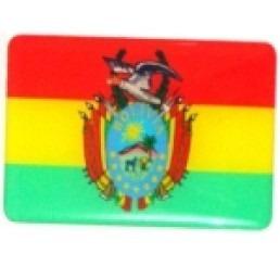 adesivo bandeira bolivia resinado universal