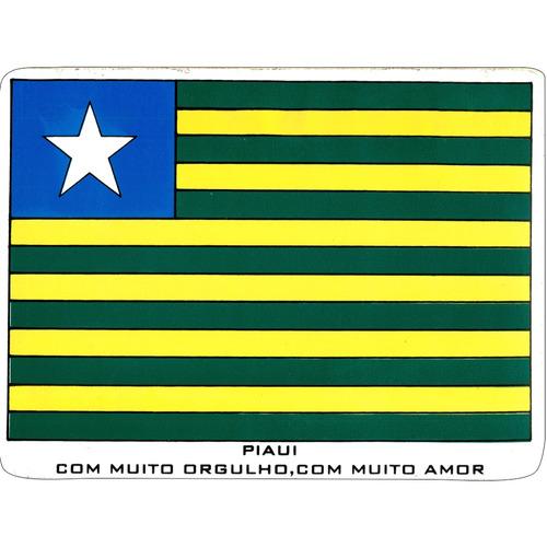 adesivo - bandeira do piauí