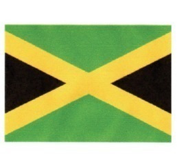 adesivo bandeira jamaica resinada