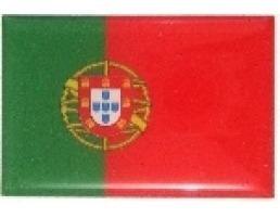 adesivo bandeira portugal resinado universal
