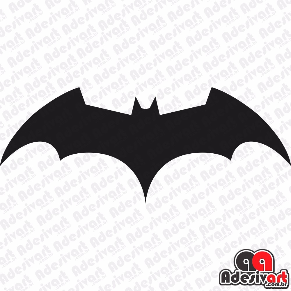 Adesivo Batman Morcego Carro Moto Notebook Decorativo 13x5cm R