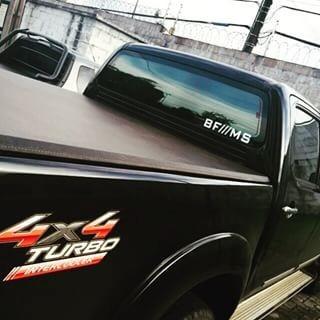 adesivo bf /// ms - camionete - 29,5cm x 4cm frete grátis