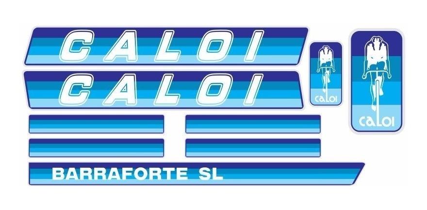 Adesivo Bicicleta Antiga Caloi Barra Forte Sl 1982 83 Azul R 39