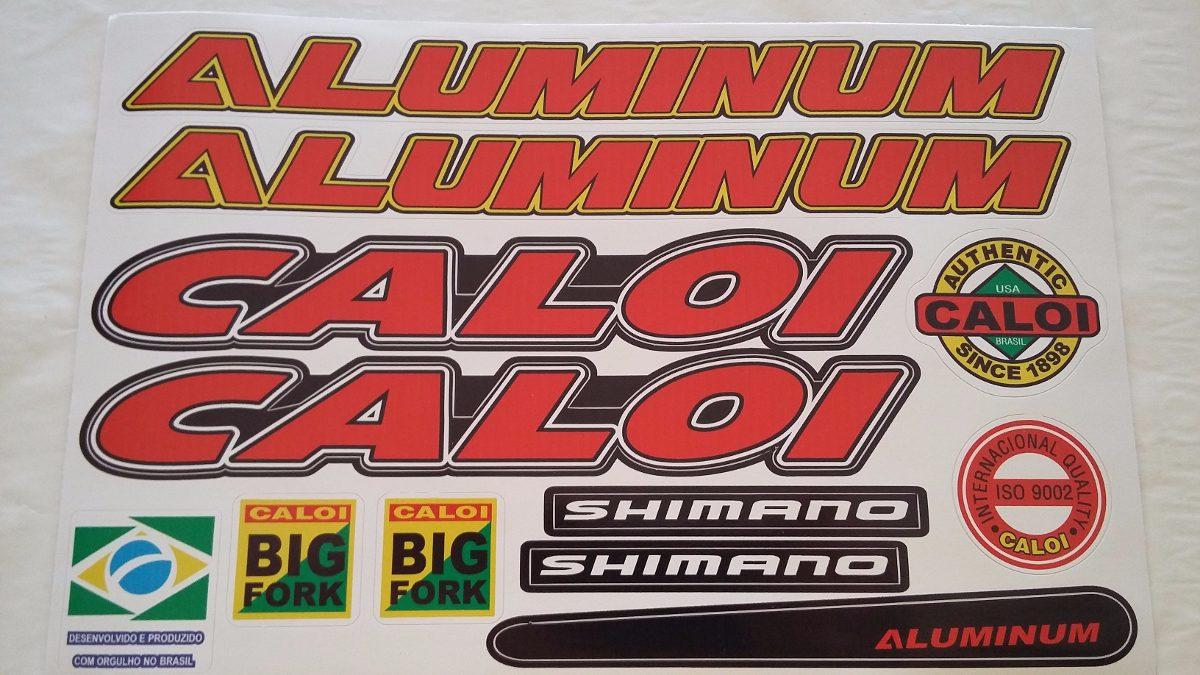 Adesivo De Parede Feminino ~ Adesivo Bicicleta Caloi Aluminum Vermelho R$ 7,90 em Mercado Livre
