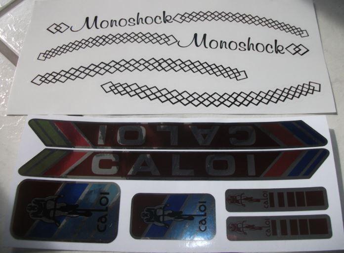 Adesivo De Parede Feminino ~ Adesivo Bicicleta Caloi Monoshock Metalizados Junior sbs R$ 59,90 em Mercado Livre