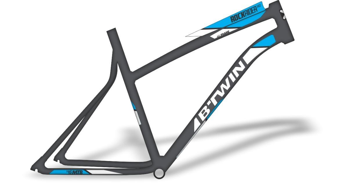 c21b2663f Adesivo Bike - Btwin Rockrider 340 - R  60