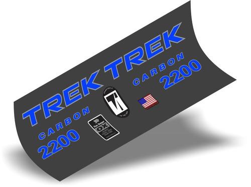 adesivo bike trek - carbon 2200  true temper