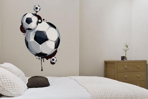 adesivo bolas de futebol - mudo minha casa