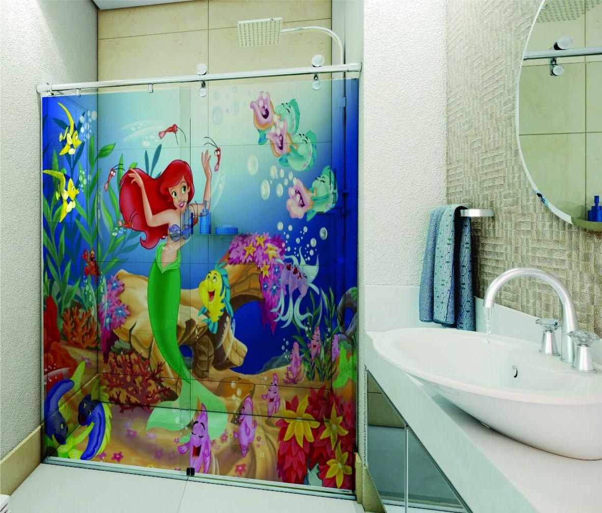 Adesivo De Emagrecimento ~ Adesivo Box Banheiro Transparente Mar Praia Agua +30 Modelos R$ 129,00 em Mercado Livre