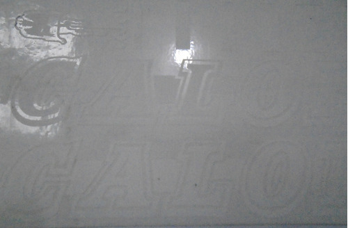 adesivo caloi 10 retro branco nº2 vinil.