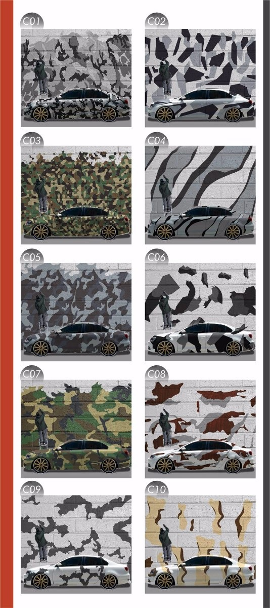 Artesanato Lembrancinhas De Aniversario ~ Adesivo Camuflado Para Envelopamento Automotivo Frete Grátis R$ 49,90 em Mercado Livre