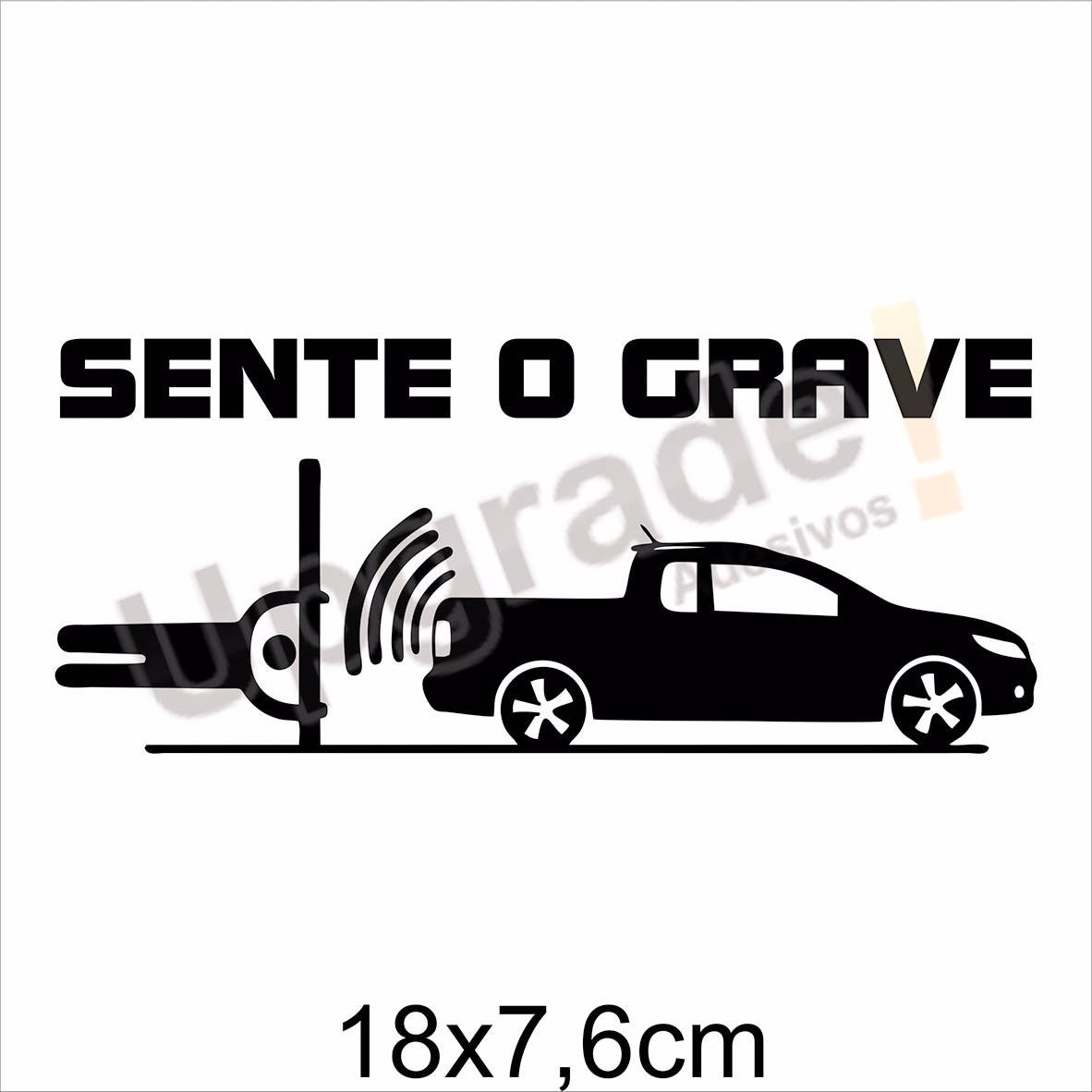 Adesivo Carro Rebaixado Sente O Grave Som Automotivo Alto R 12