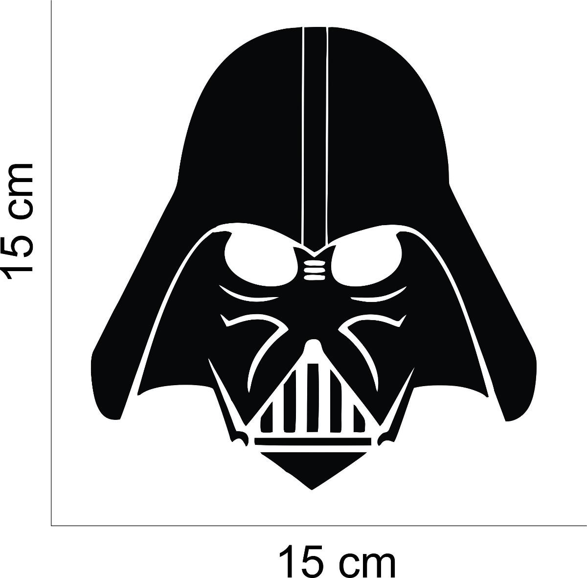 Adesivo Carro Tablet Notbook Darth Vader Star Wars