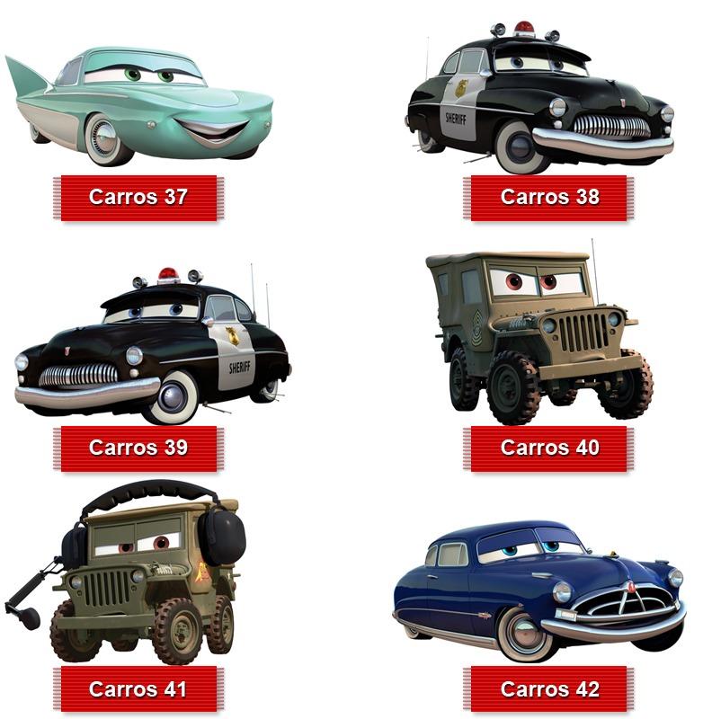adesivo carros da disney todos os personagens recortados 1x1 r 49 90 em mercado livre. Black Bedroom Furniture Sets. Home Design Ideas