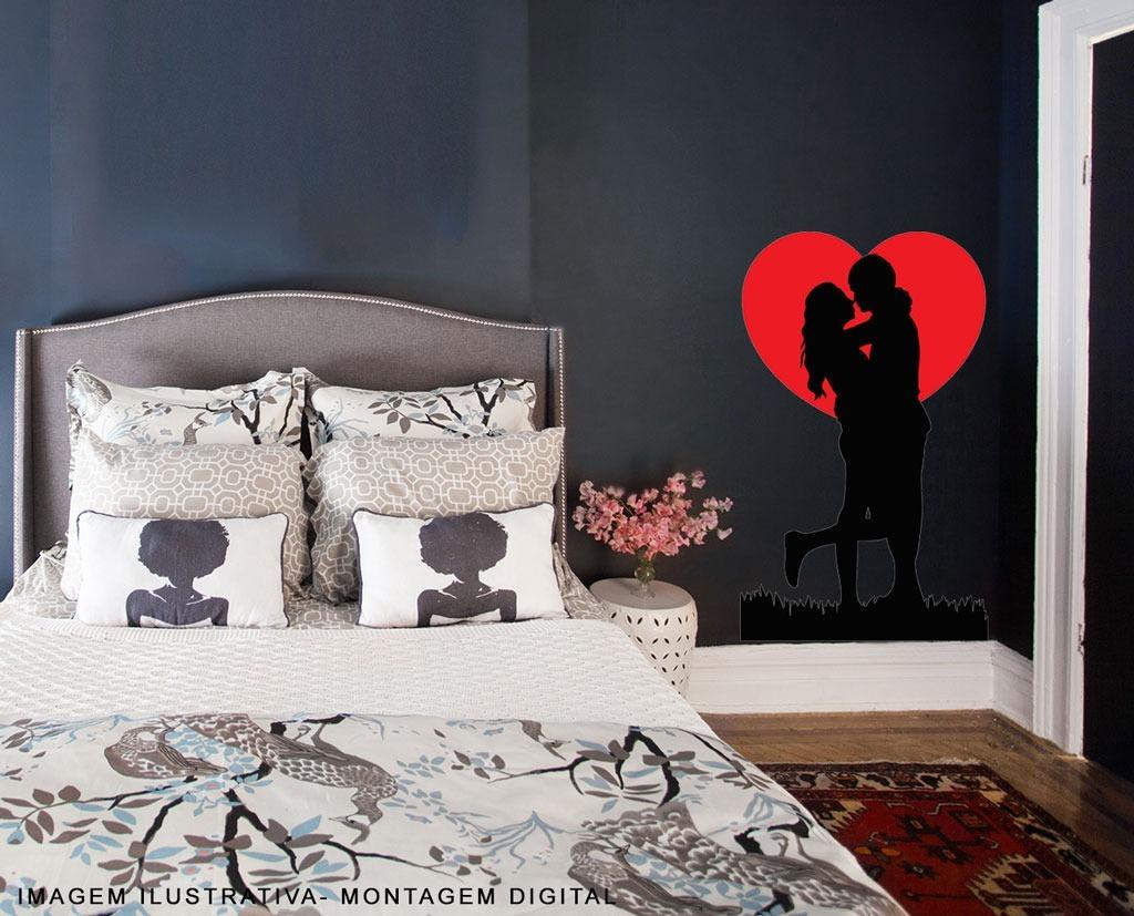 adesivo casal apaixonado paixão quarto r 60 00 em mercado livre