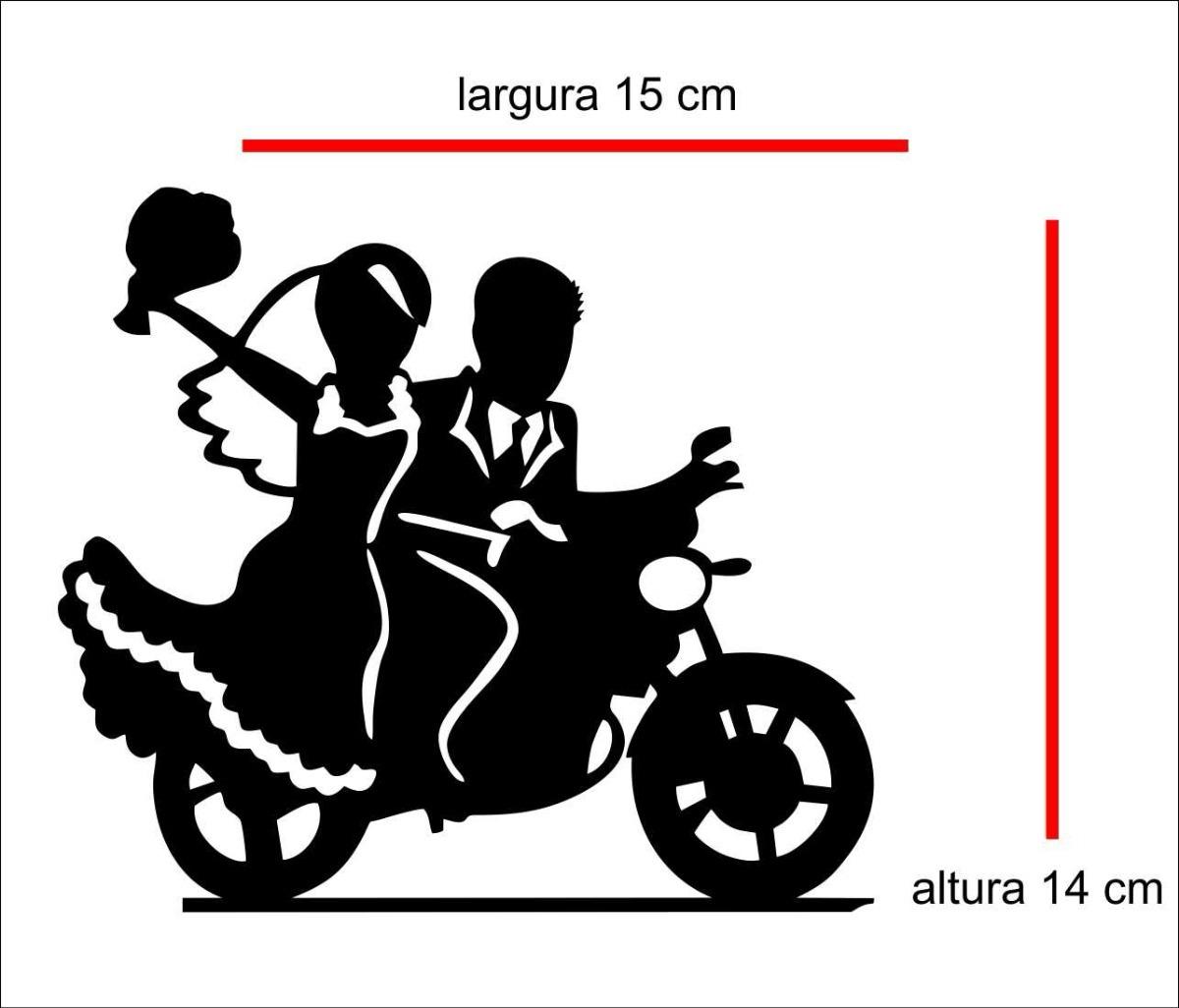 Adesivo De Moto ~ Adesivo Casal De Noivos Na Moto P Qualquer Superficie Lisa R$ 18,00 em Mercado Livre