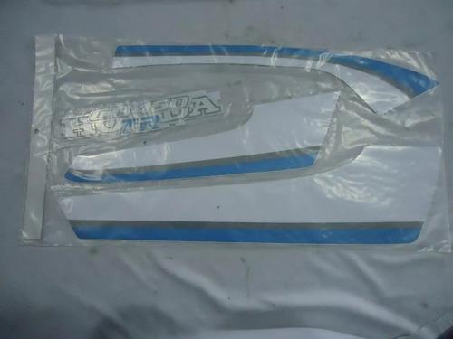 adesivo cb 450 azul 87 tr