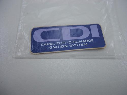 adesivo cdi cg today 92 azul lbm