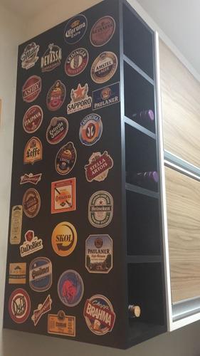 adesivo cerveja rótulos nacional importada decorativo
