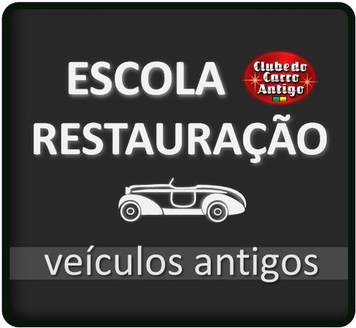 adesivo clube do carro antigo do brasil
