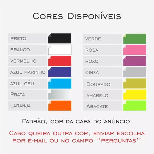 adesivo clube do onix club 15cm diversas cores a180