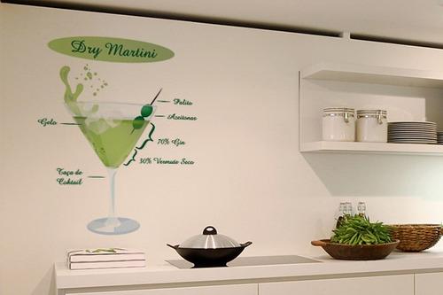 adesivo cocktail - mudo minha casa