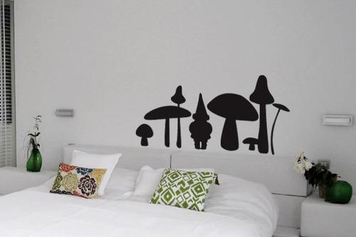 adesivo cogumelos - mudo minha casa