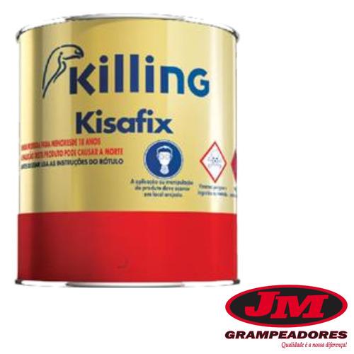 Adesivo Cola De Contato Kisafix Gal u00e3o 750 Ml Couro formica R$ 16,65 em Mercado Livre