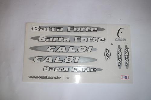 adesivo colante bike caloi barra forte cinz/bra
