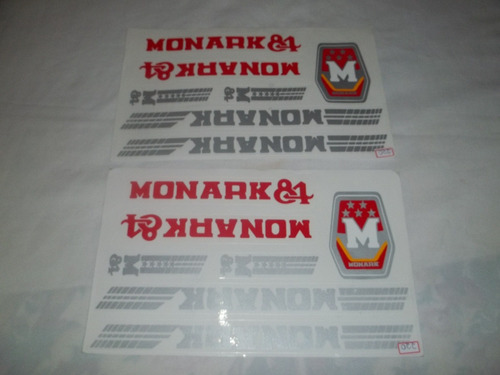 adesivo colante para bike monark 84