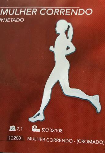 adesivo corredora alto relevo cromado frete grátis