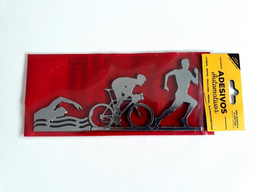 adesivo cromarca triathlon masculino cromado