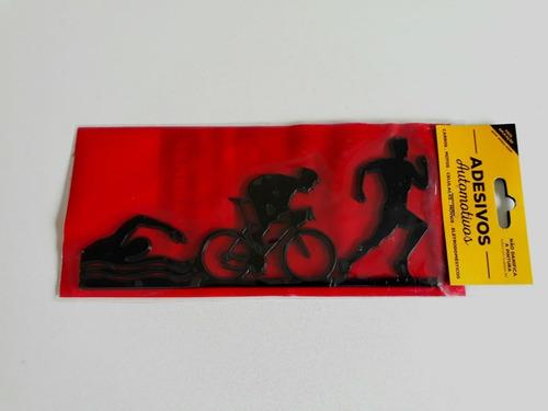 adesivo cromarca triathlon masculino preto