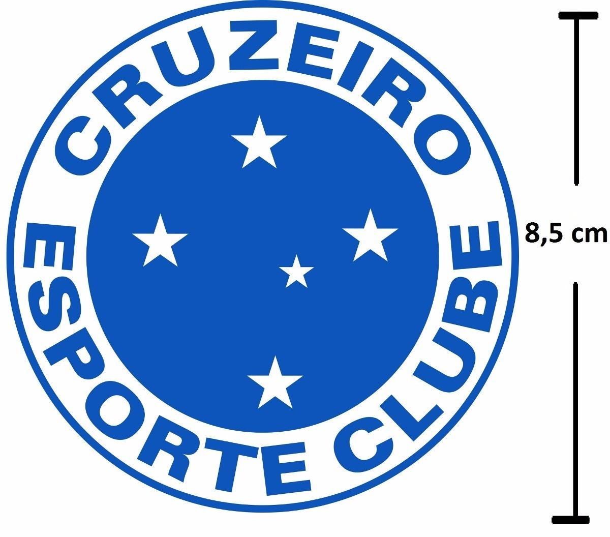 9abd09687d adesivo cruzeiro futebol escudo time. Carregando zoom.