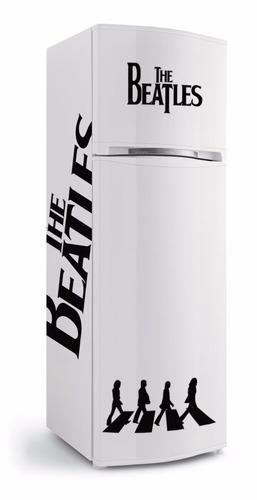 adesivo de geladeira beatles mod.1 - envelopamento completo