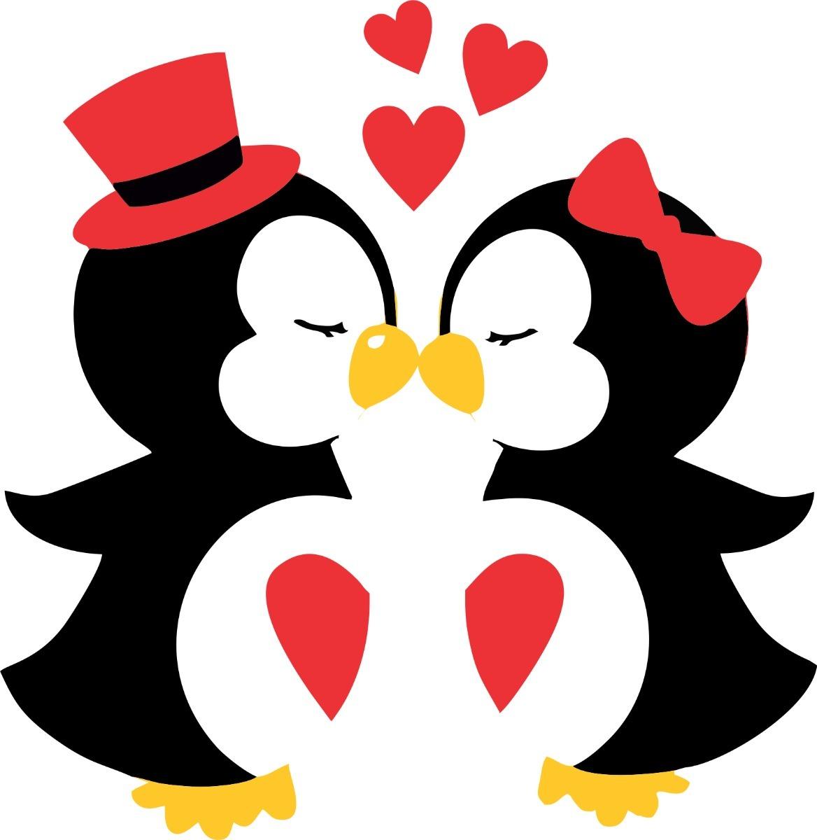 Aparador Em Mdf Com Gaveta ~ Adesivo De Geladeira Casal De Pinguim Apaixonado R$ 920