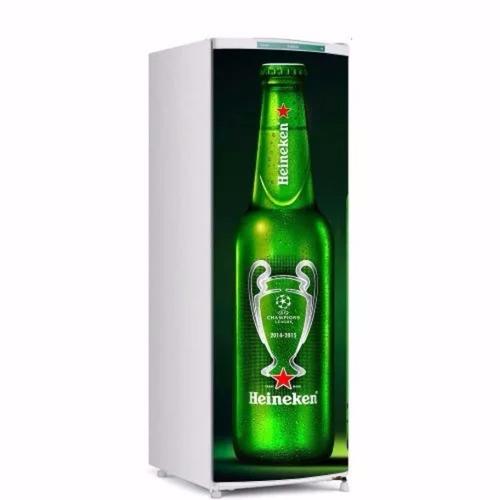 Aparador Mdf Pintado ~ Adesivo De Geladeira Cerveja Heineken R$ 65,00 em Mercado Livre