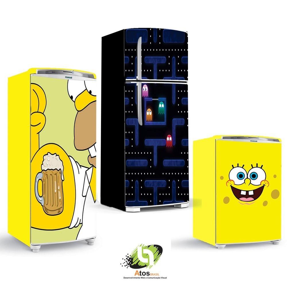 Tricolandia Artesanato Londrina ~ Adesivo De Geladeira E Freezer Desenho R$ 65,00 em Mercado Livre