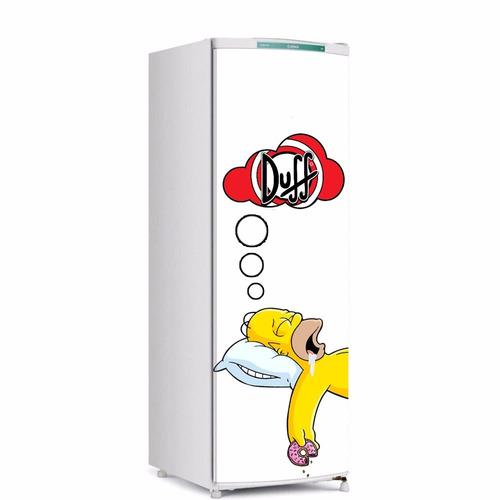 Adesivo Para Geladeira Inteira Mercado Livre ~ Adesivo De Geladeira Homer Simpson Porta Inteira R$ 64,00 em Mercado Livre