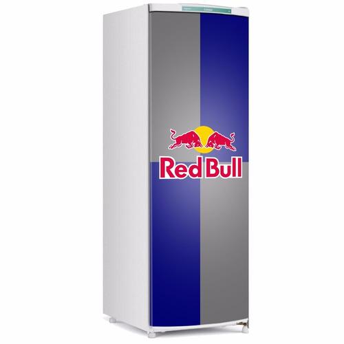 Adesivo De Geladeira Red Bull Porta Inteira R$ 70,00 em Mercado Livre