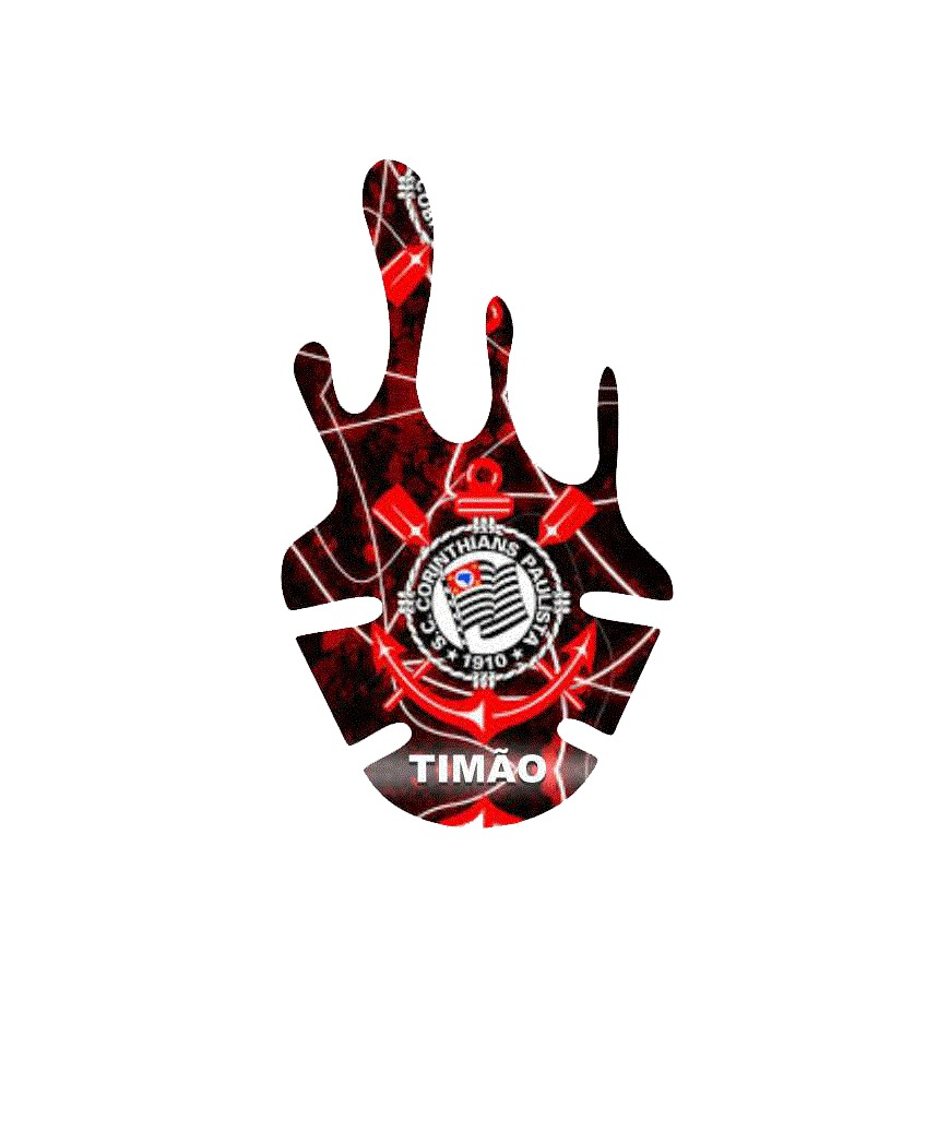 Adesivo De Paralama Personalizado Corinthians - R  39 f3f2b5eb4726f