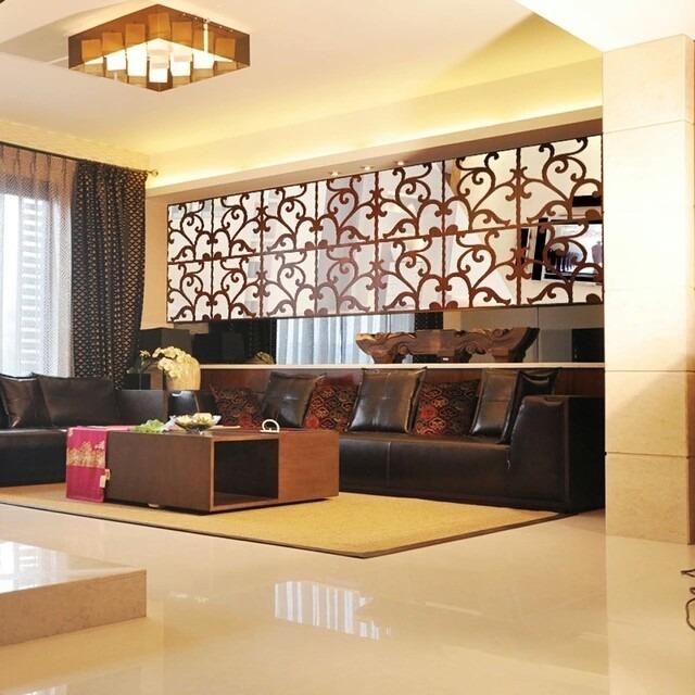 adesivo de parede 3d acrilico espelhado decora o para casa r 85 50 em mercado livre. Black Bedroom Furniture Sets. Home Design Ideas