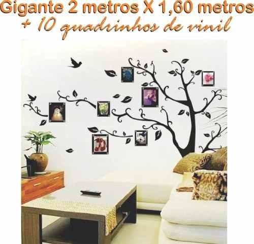 Adesivo Porta De Barbearia ~ Adesivo De Parede Arvore Foto Retrato Família 2m Grande Sala R$ 129,99 em Mercado Livre